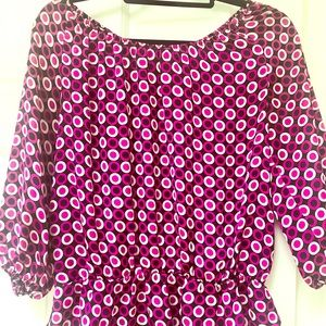 Vince Camuto pure silk top